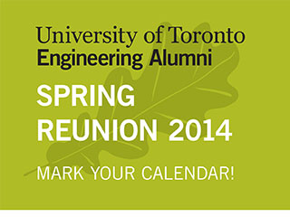 Spring Reunion 2014 - Mark Your Calendar!