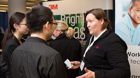 You're Next Career Network's career fairs are an invaluable resource for new grads and established alumni alike. (Photo courtesy of YNCN)