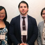 U of T Engineering students Alice Ye, Marko Damnjanovic and Alexandra Davidson. Photo: Jamie Hunter