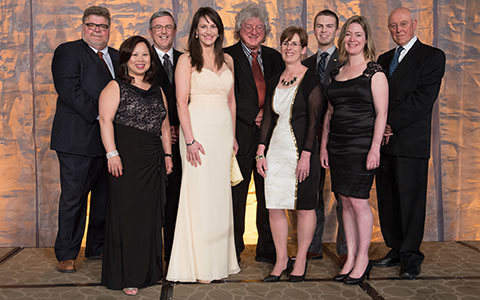 Marisa Sterling and other Engineers Canada award winners