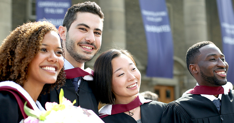 U of T Engineering graduates at convocation