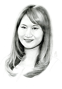Illustration of Fionna Gan