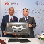 Huawei signing
