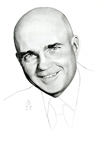 Illustration of Paul Henderson