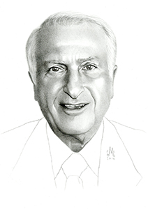 Illustration of Ron Sidon