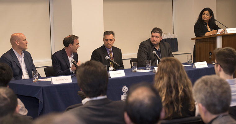 BizSkule panel at Spring 2017 BizSkule event in Toronto