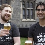 Matthew Reiner and Mohan Pandit of Rorschach Brewing