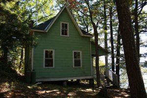 cabin at camp