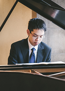 Allan Kuan playing piano