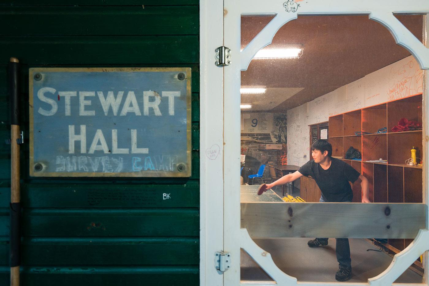 survey camp stewart hall