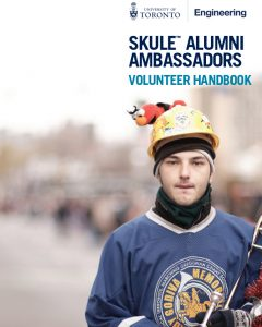 PDF of the Skule Alumni Ambassadors Volunteer Handbook