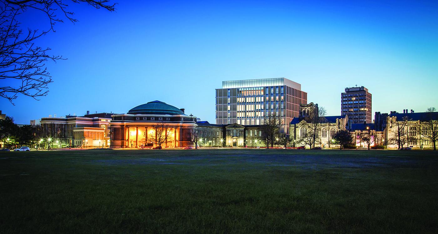 Rendering of the Myhal Centre for Engineering Innovation & Entrepreneurship