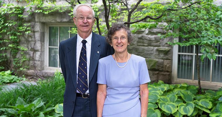 Lauri and Jean Hiivala at Alumni Reunion