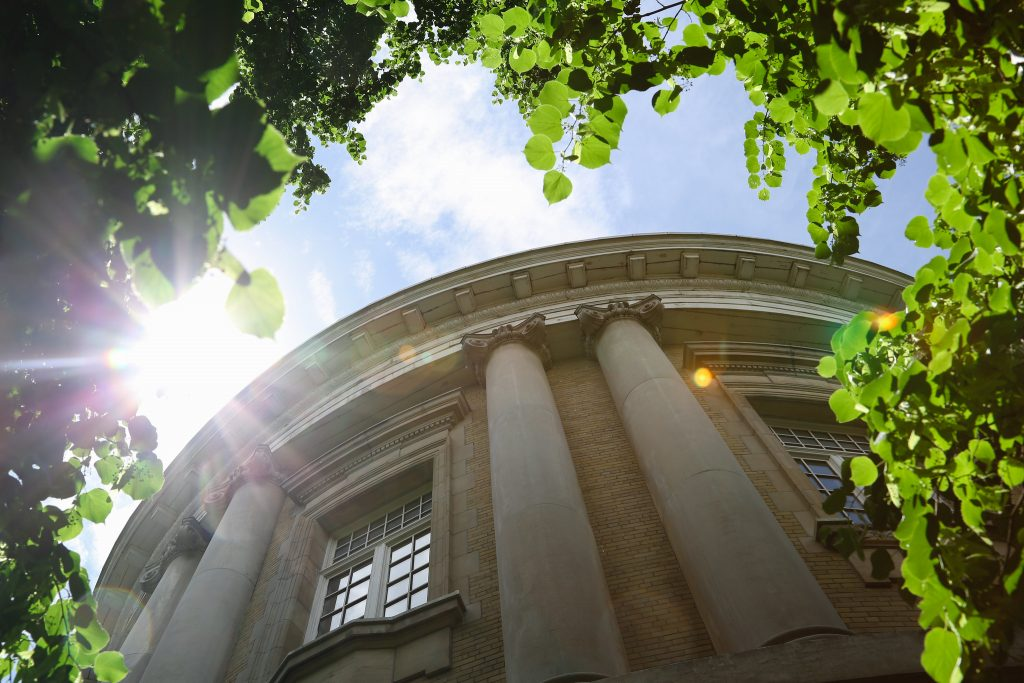 Convocation Hall with Sunlight