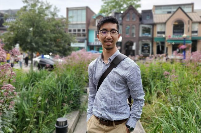 Alumnus Lyndon Chan hopes to boost political engagement with Parlawatch, an online tool that scrapes official transcripts from Question Period and uses natural language processing to generate daily summaries. (Photo courtesy: Lyndon Chan)